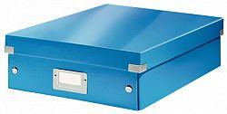 cutie-suprapozabila-leitz-click-store-organizer-medie-albastru