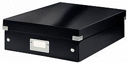 cutie-suprapozabila-leitz-click-store-organizer-medie-negru