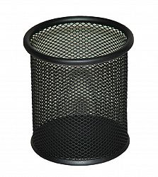 suport-metal-tip-mesh-pentru-instrumente-scris-negru