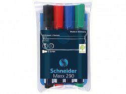 set-board-marker-schneider-maxx-290-4-culori-set