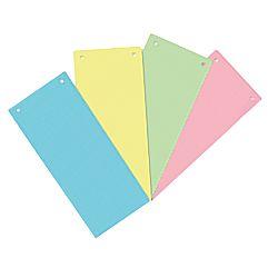 Separatoare A6/A7 Carton Color 100buc/set - Albastru