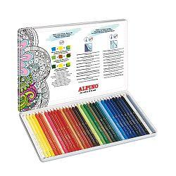 creioane-colorate-acuarela-cutie-metal-36-culori-set-alpino-aquarelle