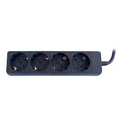 prelungitor-ted-electric-4-prize-schuko-230v-cablu-5m-3x1mm-negru
