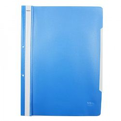 dosar-a4-din-plastic-cu-sina-si-2-gauri-noki-albastru-deschis