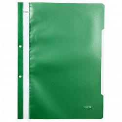 dosar-a4-din-plastic-cu-sina-si-2-gauri-noki-verde