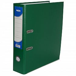 Biblioraft plastifiat A4 Noki, 75 mm, 480 coli, Verde