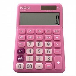 calculator-birou-noki-hcs001-12-digits-roz