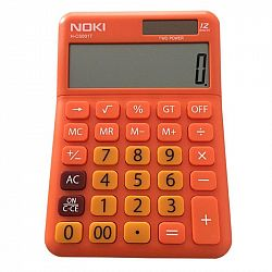 calculator-birou-noki-hcs001-12-digits-portocaliu
