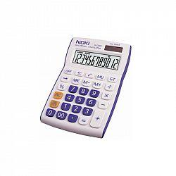 calculator-birou-noki-hcs002-12-digits-alb-albastru