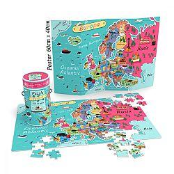 puzzle-cunoastere-noriel-harta-europei-150-piese