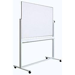 tabla-alba-magnetica-dubla-fata-rotativa-100-x-200-cm-pe-stand-mobil-profil-aluminiu-optima