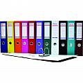 biblioraft-a4-plastifiat-pp-paper-margine-metalica-50-mm-optima-basic-negru