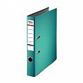 biblioraft-a4-plastifiat-pp-paper-margine-metalica-50-mm-optima-basic-turqoise