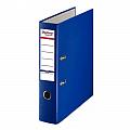 biblioraft-a4-plastifiat-pp-paper-margine-metalica-50-mm-optima-basic-bleumarin