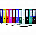 biblioraft-a4-plastifiat-pp-paper-margine-metalica-75-mm-optima-basic-albastru