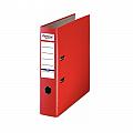 biblioraft-a4-plastifiat-pp-paper-margine-metalica-75-mm-optima-basic-rosu