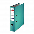 biblioraft-a4-plastifiat-pp-paper-margine-metalica-75-mm-optima-basic-turqoise