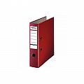 biblioraft-a4-plastifiat-pp-paper-margine-metalica-75-mm-optima-basic-visiniu