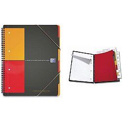 caiet-cu-spirala-a4-oxford-international-organiserbook-80-file-80g-mp-4-perf-coperta-pp-dict