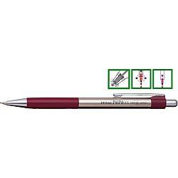 creion-mecanic-metalic-penac-pepe-rubber-grip-0-5mm-varf-metalic-accesorii-bordeaux