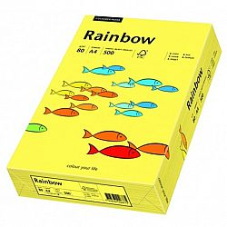 Rainbow 80g 210x297 R medium orange, FSC, A4