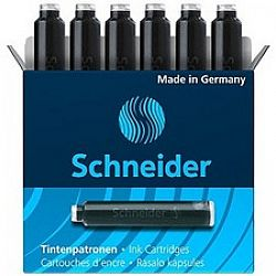 patroane-cerneala-schneider-6-buc-set-negru