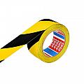 banda-adeziva-pentru-marcare-50mm-x-33m-tesaflex-galben-negru