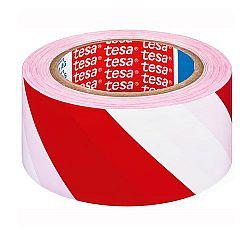 banda-adeziva-pentru-marcare-50mm-x-33m-tesaflex-rosu-alb