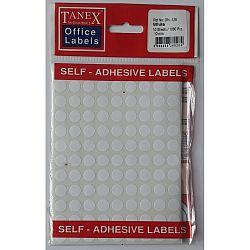 etichete-autoadezive-albe-d-10-mm-tanex