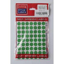 etichete-autoadezive-color-d-13-mm-tanex-verde