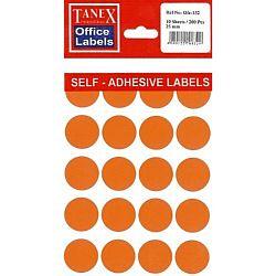 etichete-autoadezive-color-d-25-mm-tanex-portocaliu