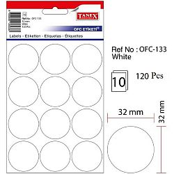 etichete-autoadezive-albe-d-32-mm-tanex