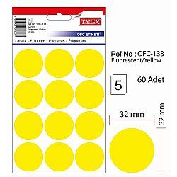 etichete-autoadezive-color-d-32-mm-tanex-galben