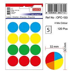 etichete-autoadezive-color-d-32-mm-tanex-asortate